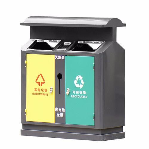 内蒙古乌兰察布市四色分类垃圾桶价格-洛阳中星