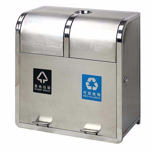 浙江省湖州市四色分类垃圾桶厂家-洛阳中星