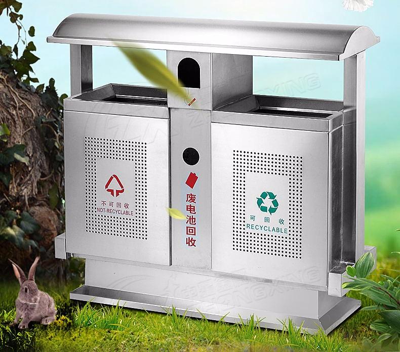 安徽省蚌埠市分类户外垃圾桶 价格-洛阳中星