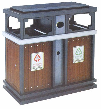 河南省商丘市专用户外分类垃圾桶价格-洛阳中星
