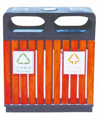 新疆喀什地区分类户外垃圾桶 厂家-洛阳中星