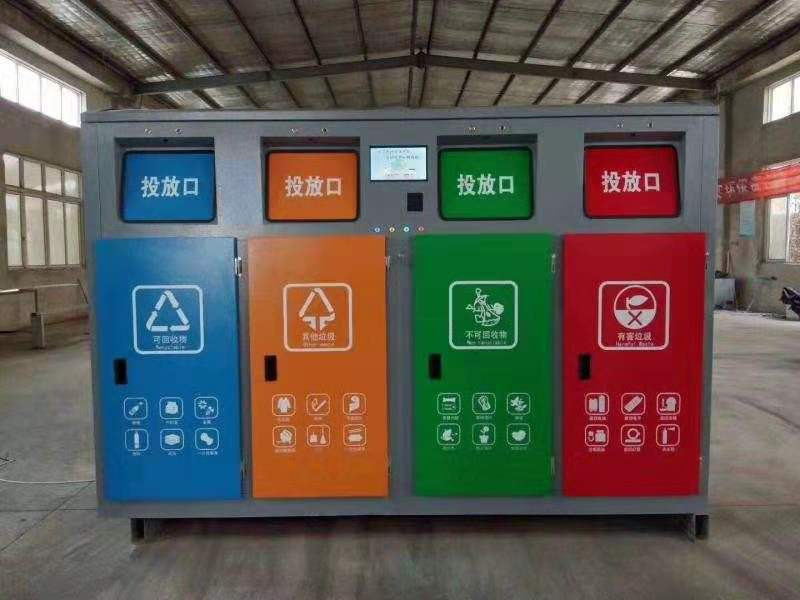 广东省湛江市不锈钢垃圾桶-不锈钢垃圾桶价格-洛阳中星