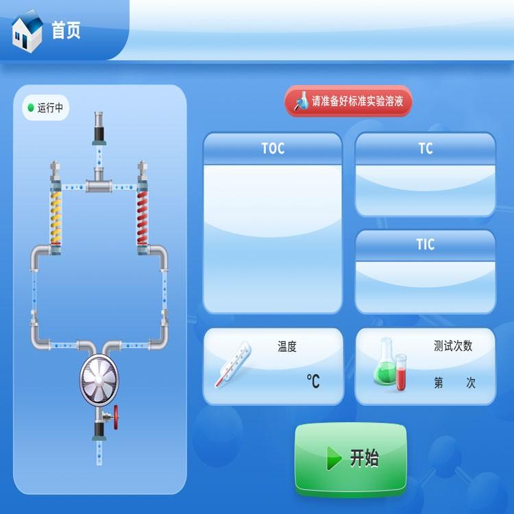 纯水设备toc总有机碳分析仪工