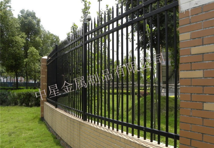 山西阳泉锌钢围墙护栏-锌钢围墙护栏厂家电话-洛阳中星