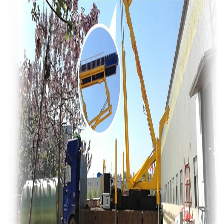 舉升17米移動高空壓瓦機出租廠家