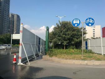 安徽省滁州市彩钢围挡-彩钢围挡厂家直销--洛阳中星