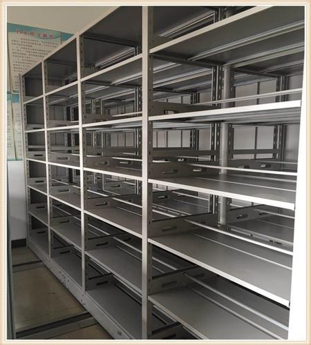 海拉尔全封闭式移动密集柜期刊柜