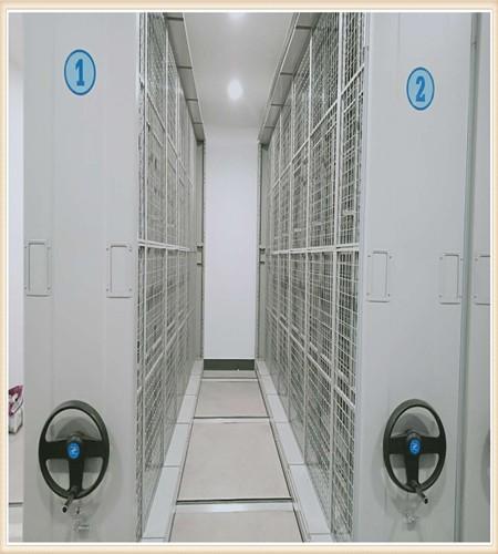 深圳档案密集柜安装滑轨
