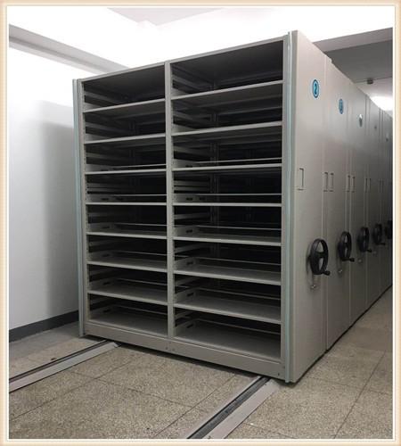 肇源密集型档案移动柜案例